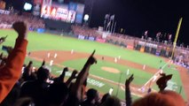 SF Giants Travis Ishikawa Walk-Off Home Run to win NLCS Game 5!