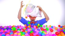 Learn Colors of Machines with Blippi _ Colorful Balls
