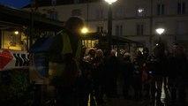 Un aperçu du rassemblement après l'annonce de l'abandon du projet de Notre-Dame-des-Landes