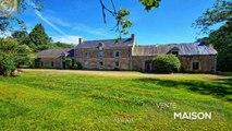 MORBIHAN - Entre Pontivy et Josselin - Superb corps de ferme à renover avec 1,18 hectares