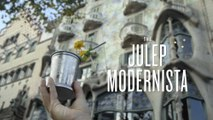Curbside Cocktails: Barcelona, JULEP MODERNISTA - Liquor.com