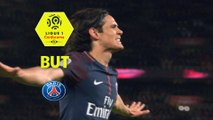 But Edinson CAVANI (21ème) / Paris Saint-Germain - Dijon FCO - (8-0) - (PARIS-DFCO) / 2017-18