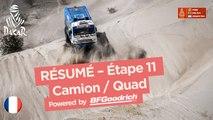 Résumé - Camion/Quad - Étape 11 (Belén / Fiambalá / Chilecito) - Dakar 2018