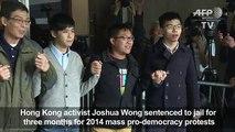 Aktivis demokrasi Hong Kong Joshua Wong dipenjarakan lagi
