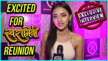 Tejasswi Prakash EXCITED To Meet Her SWARAGINI Team | EXCLUSIVE Interview