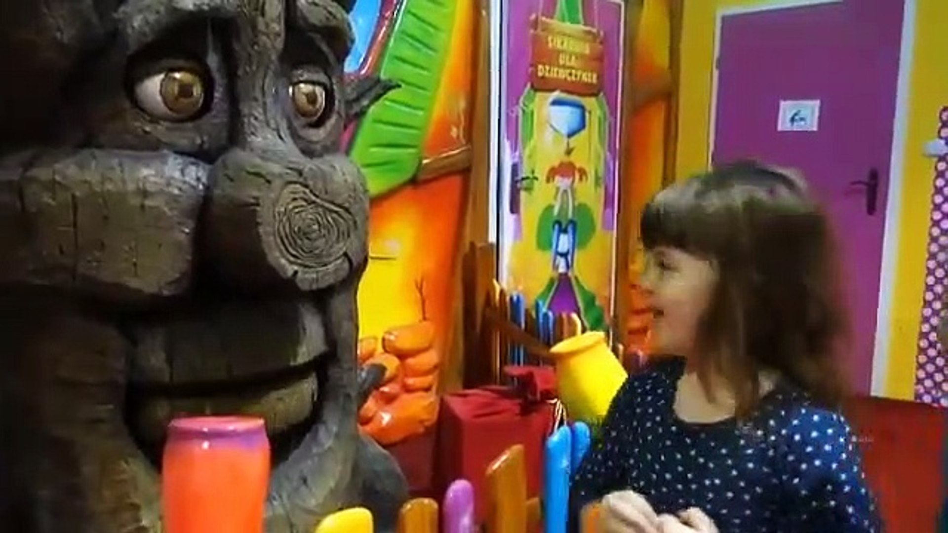 Playing Indoor Playground Kids Fun with Balls Toys Play cente for Kids Playroo