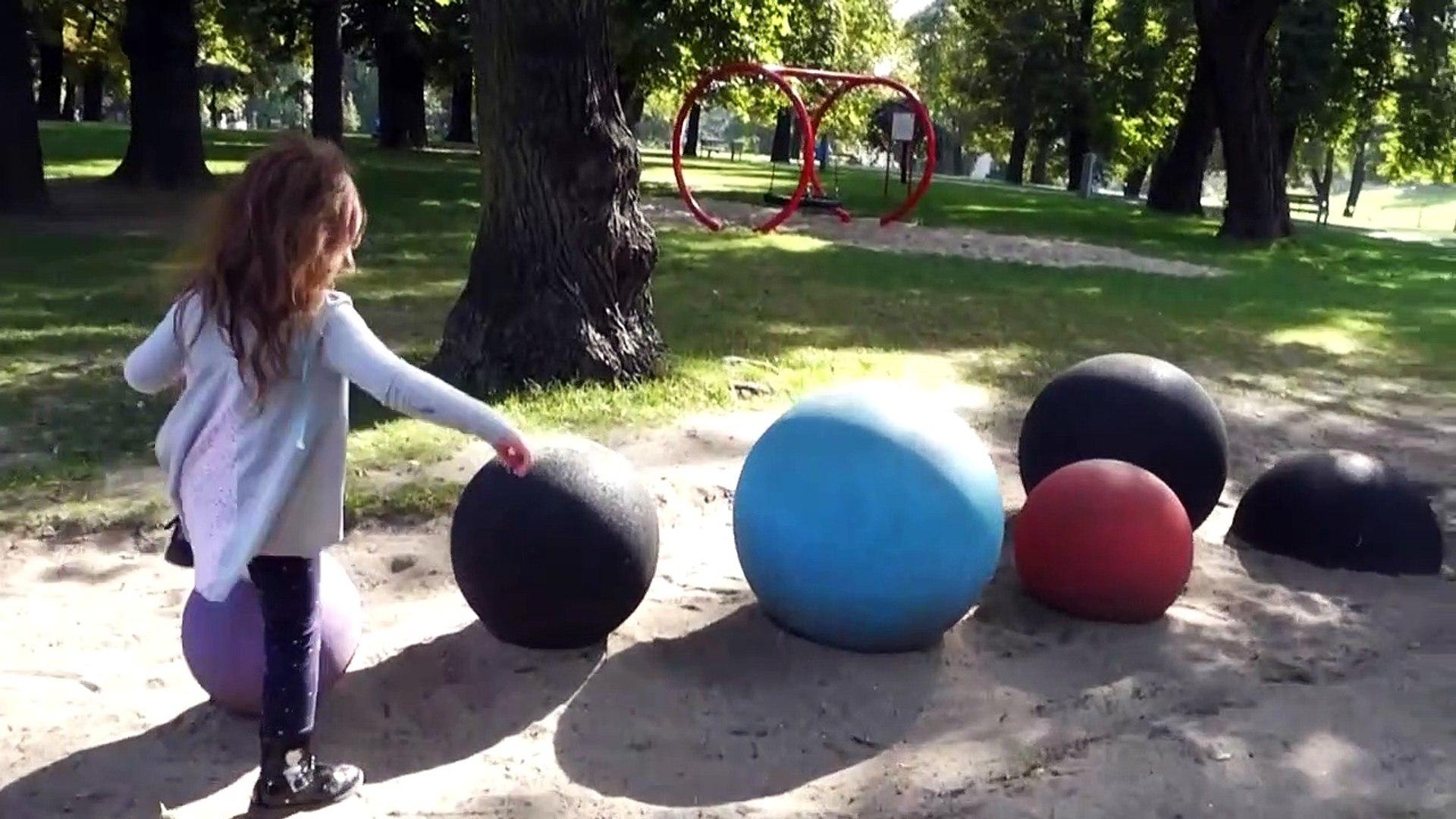Playground with Balls Kids Playing
