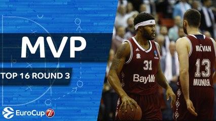 Top 16 Round 3 MVP: Devin Booker, FC Bayern Munich