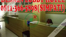 0811-366-5898(SIMPATI), Lobby Kantor Dan Interior Sidoarjo, Lobby Kantor Dan Interior Resepsionis Sidoarjo