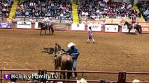 Cowboy RODEO! Riding Bulls n' Horses   Sheep at Fort Worth Stockyards Our First Rodeo HobbyFa
