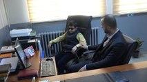 Cumhurbaşkanı Erdoğan'ın 'Müslüm Baba gibi' dediği Abdulkerim, hafız olmak istiyor