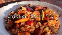How to Make Fried Rice With Chicken - Quick Recipe - Piletina u Voku - HOW TO COOK - 01182018
