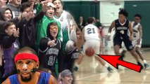 He Got NUTMEGGED! #1 Florida Team SHOWS OUT For RIP HAMILTON! [USchool VS Pinecrest]