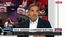 """Christopher Baldelli, Président de RTL dans Morandini Live : """"Nos émissions battent des records mais je réfléchis déjà à"""