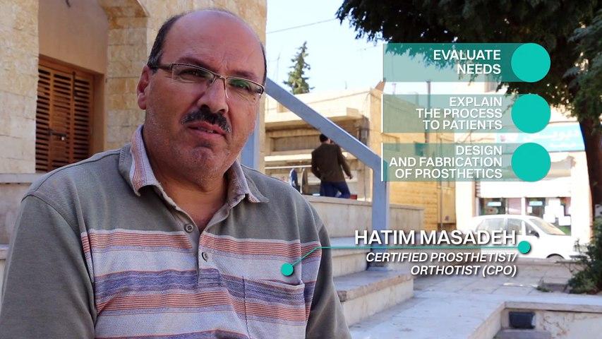 3D Prosthetics / Video 2 - Interview  of Hatim Masadeh