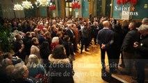 Cérémonie des voeux de Laurent Russier, maire de Saint-Denis