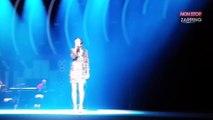 Johnny Hallyday : Jenifer lui rend hommage pendant le concert des Enfoirés (Vidéo)