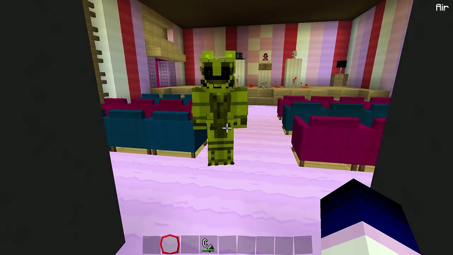 Gallant Gaming Fnaf Roblox Sistler Location Golden Funtime Foxy Jumpscare Minecraft Fnaf Roleplay Dailymotion Video
