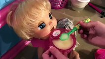 Baby Alive Zoey Throws Up! Zoey is Still Sick :( Baby Alive 2006 Soft Face