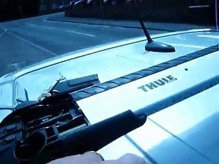 How to remove Thule roofbars
