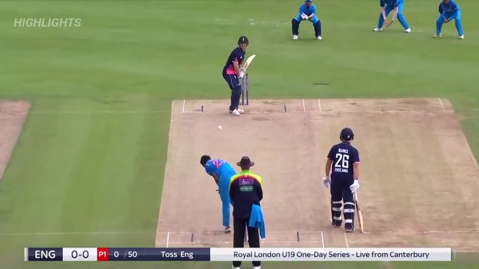 England U19 Vs India U19 2nd Odi Match Full Highlights Hd