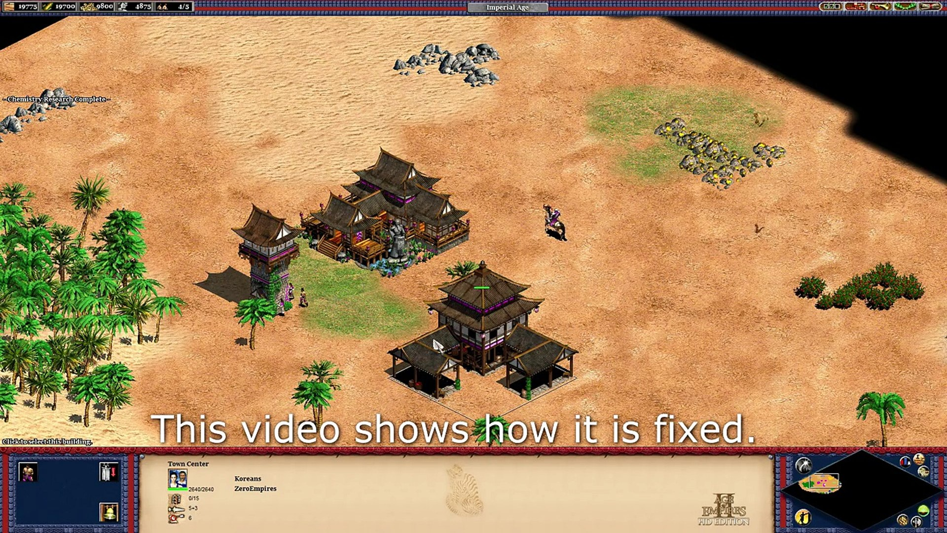 Glitches & Bugs in AoE2