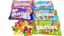 6 Skittles Flavors - Fruits, Crazy Sour, Confused, Tropical, Darkside & Wild Berry Flavor