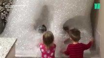 Vous ne penserez plus votre bain comme avant, ces enfants sont au-dessus de tout