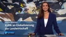 SCHWERPUNKT: Grüne Woche in Berlin - Kritik an Landwirtschaft   Tagesschau24 [HD 1080p]