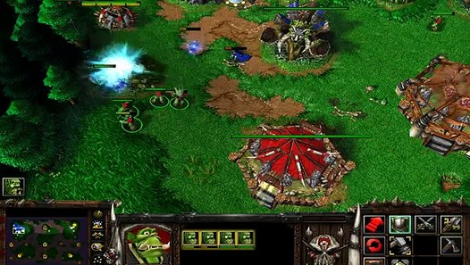 Warcraft 3 Peons Vs Insane Computer Video Dailymotion