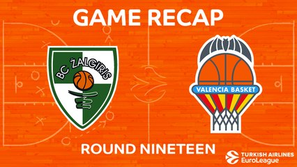 EuroLeague 2017-18 Highlights Regular Season Round 19 video: Zalgiris 86-82 Valencia