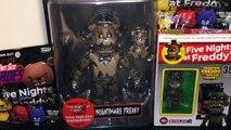 Five Nights at Freddys Series 2 Nightmare Freddy Action Figure, Phantom Freddy Set & Blind Bag Toys