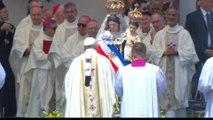Devoción a la Virgen de La Tirana, protagonista en la misa papal en Iquique