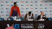 Illinois Basketball Press Conference vs. Michigan 3/12/15 (Big Ten Tournament 2nd Round)