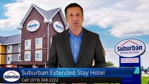 Affordable Hotels in Cedar Falls Iowa Discount Cheap Rate Best Price  | Suburban Extended Stay Hotel
