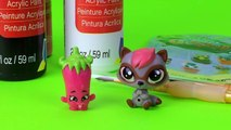 Lps Videos Littlest Pet Shop Shopkins Makeover DIY Custom Tutorial LPS
