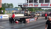 2013 Nostalgia Top Fuel Dragster Drag Racing Fuel and Gas Drags Memphis International Raceway Video