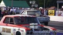 2016 Nitro A/FX Drag Racing Cars Hot Rod Meltdown Drags Byron Dragway USA  Video