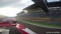 Tesla Model S P85D vs Ferrari 458 Speciale 1/4 Mile Drag Racing + DONUTS!