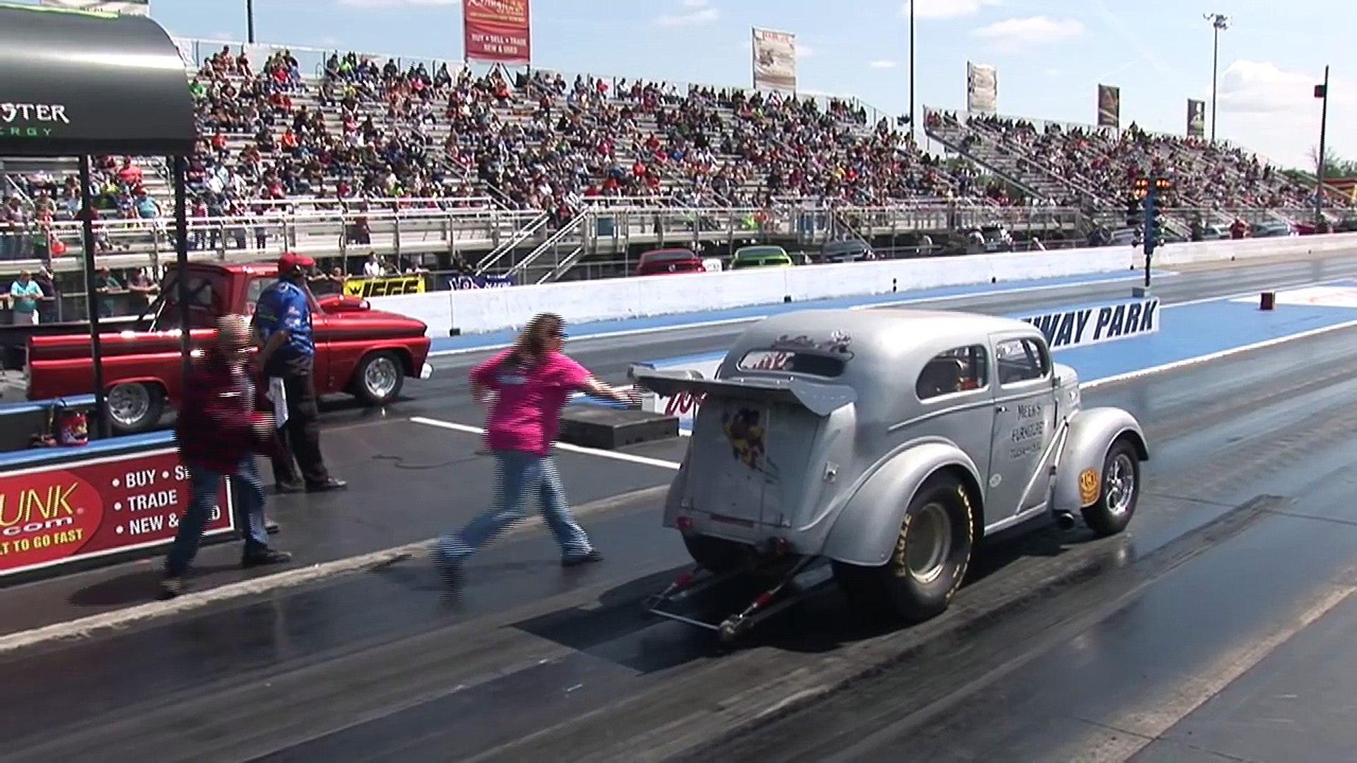 Old School Gasser Drag Racing - Tulsa Raceway Park