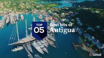 Top 5 spots on a Antigua sailing vacation