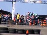 Fiat X 1/9 VS. Porsche 964 Turbo - Dead Sea Drag Racing 2013