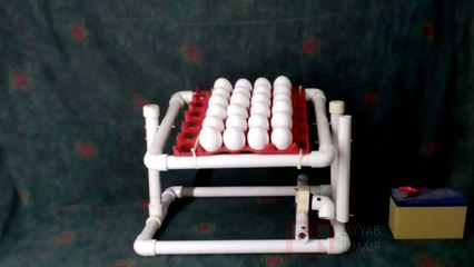 How To Make Fully Automatic Incubator Hatcher Egg Tray