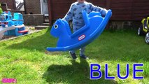 Learn Colors with Funny Baby Jumping Through the Wall Baby