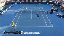 Tennis : Le poteau rentrant de Denis Istomin !!
