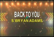Bryan Adams Back To You Karaoke Version
