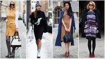 Hiver robes pour look décontracté - 2018 Fashionista