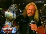 Jerry Lynn Promo at WWF New York , 05.20.2001