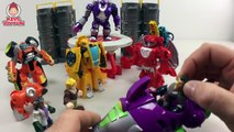 Transformers Rescue Bots New Bumblebee Jet Bot Heatwave Fire Bot Sequoia & Brushfire Toys Unboxing