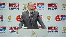 Uşak Cumhurbaşkanı Erdoğan, Partisinin Uşak 6. Olağan İl Kongresinde Konuştu -4